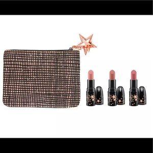 MAC Lucky Stars Neutral Mini Lipstick Kit New